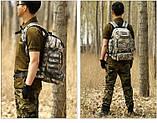 Рюкзак тактичний, похідної, штурмової, туристичний, військовий Protector Plus S427 40л +слінг подсумок, фото 6