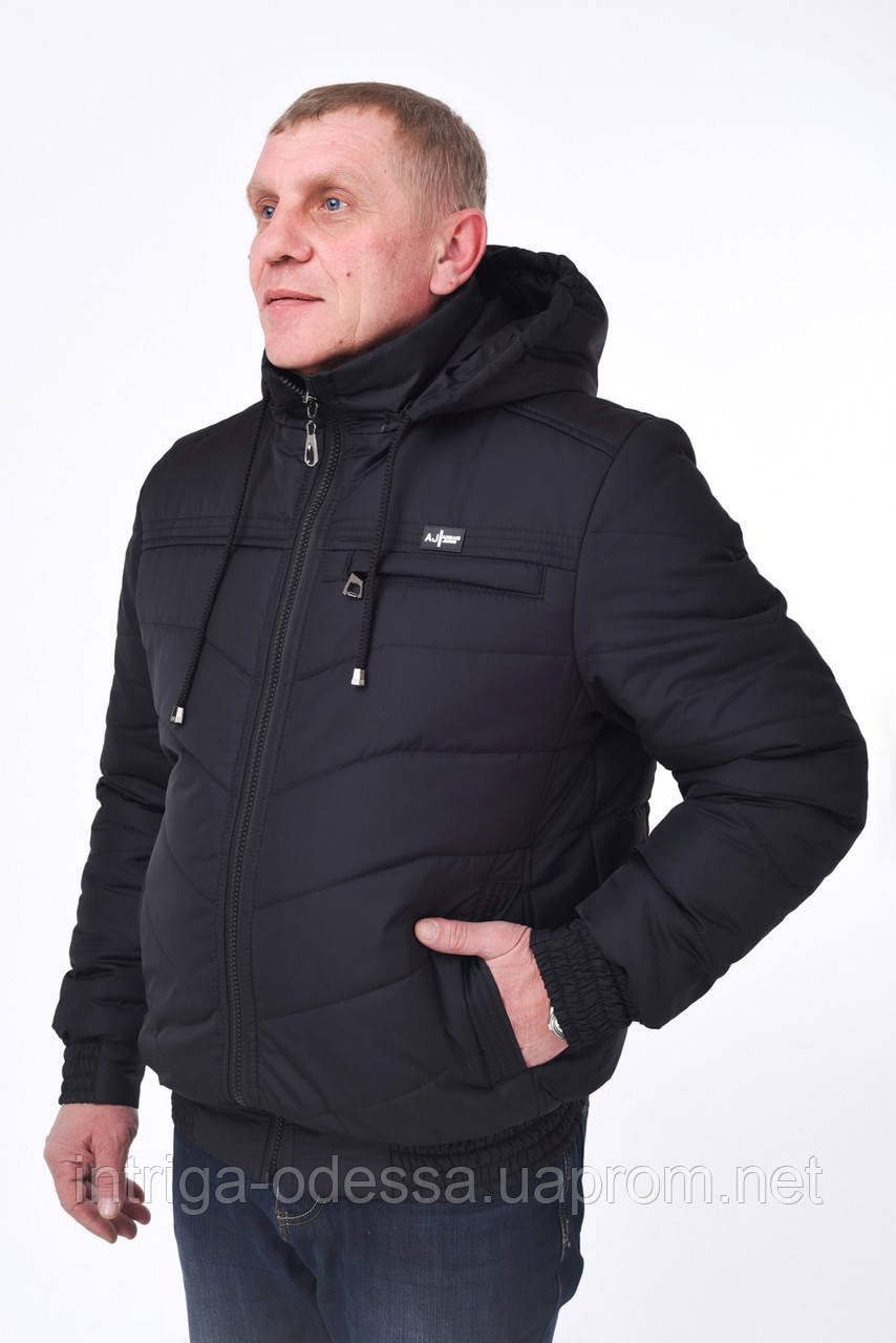 Мужская куртка №9 (чёрный)