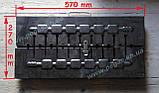 Мангал чемодан металлический на 10 шампуров металл 2 мм, фото 3