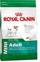 Корм Royal Canin (Роял Канин) MINI ADULT для взрослых собак мелких пород от 10 месяцев до 8 лет 0,8 кг