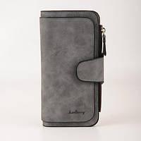 Клатч-кошелек Baellerry Forever (темно-серый), фото 1