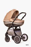 Универсальная коляска 2 в 1 Ajax Group Pride Nefrit серый+беж