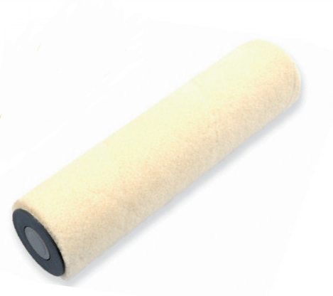 Велюровый валик с акриловым ворсом 25 см Ø 8 мм, стик QPT