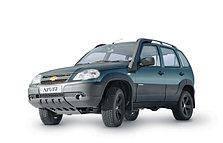 Дефлектор капота (мухобойка, отбойник капота) Chevrolet Niva 2002-2020