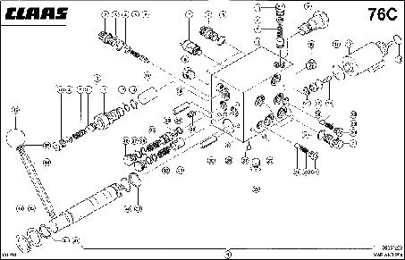 ПРЕДОХРАНИТЕЛЬНЫЙ КЛАПАН - CLAAS VARIANT 280 / 280RC (4)