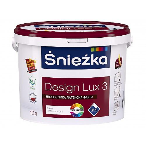Снєжка Design Lux матова латексна інтер'єрна  4кг