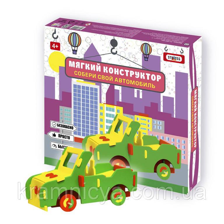 Мягкий конструктор 'Автомобиль-внедорожник' (6103)
