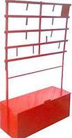 Стенд пожарный открытого типа стационарный 0,16 м.куб
