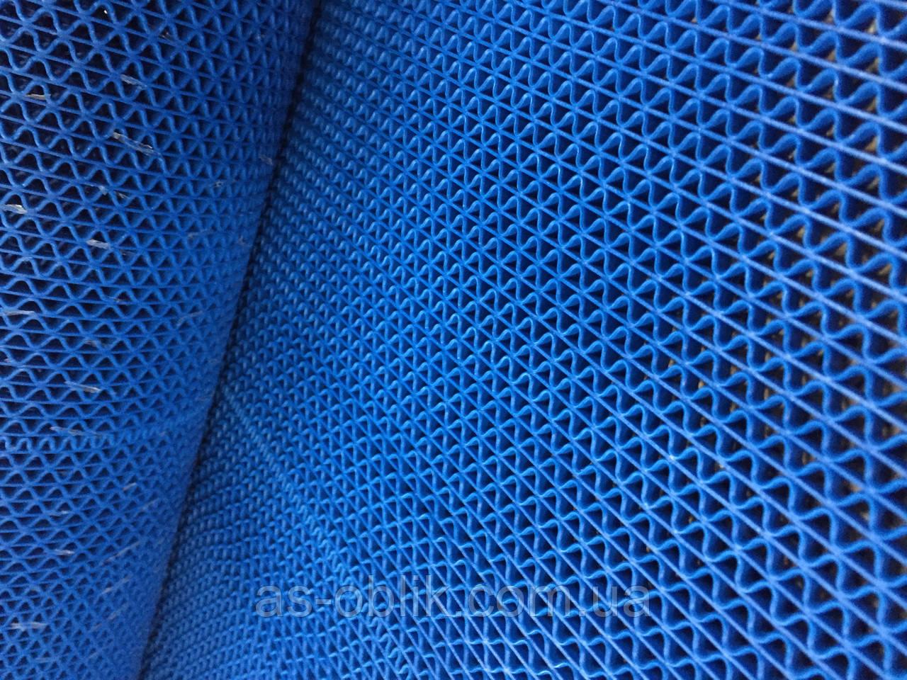Ковер резиновый 4000х500 мм Крокус нью синий