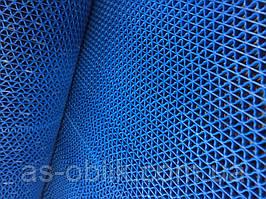 Ковер резиновый 2500х500 мм Крокус нью синий