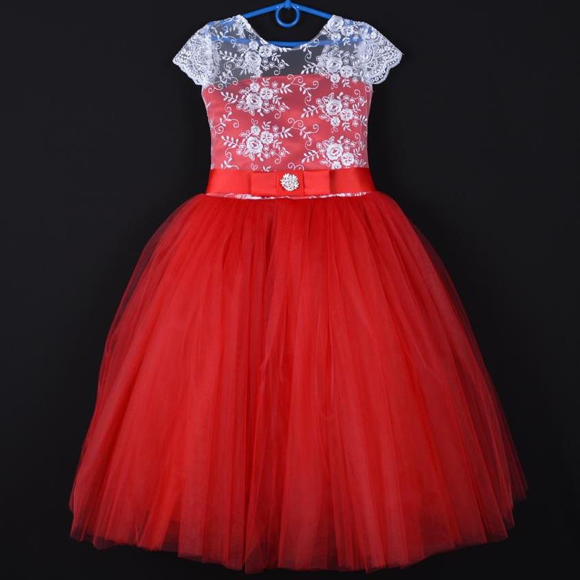 0fc154c0cb11254 Нарядное детское платье