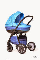 Универсальная коляска 2 в 1 Ajax Group Pride Pacific Синий+я.голубой