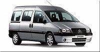 Килимки автомобільні у салон Citroen Jumpy 1998-2007