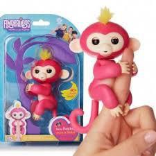 Интерактивная игрушка обезьянка Fingerlings Monkey Оригинал!!! на Аккумуляторе!!!