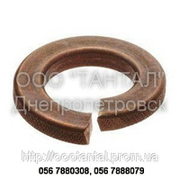 Шайба пружинная бронзовая от М2 до М20, ГОСТ 6402-70, DIN 127, DIN 7980