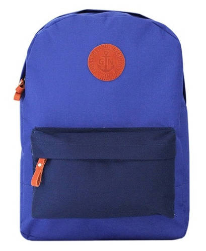 Молодежный городской рюкзак 12 л. Gin Bronx, синий-2