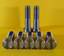 Нестандартні гвинти з головкою у формі циліндра і прямим шліцом