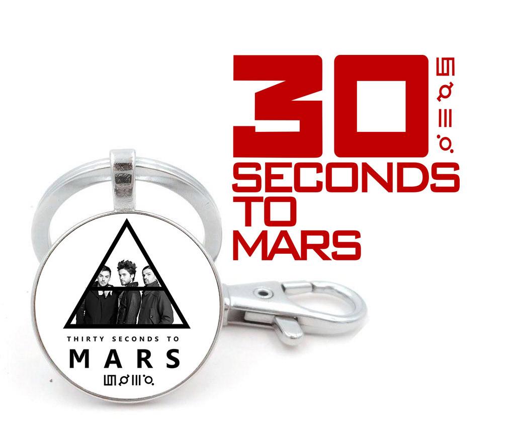 Брелок 30 seconds to Mars Триада и группа