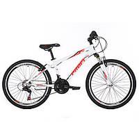 Велосипед спортивный подростковый 24 дюймов GW24PLAIN A24.1 Белый