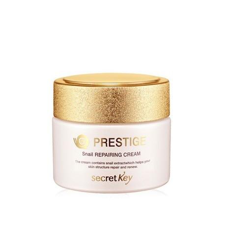 Улиточный крем премиум-классаSecret Key Prestige Snail Repairing Cream