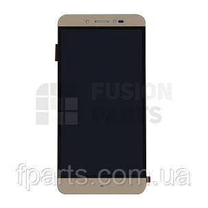 Дисплей Prestigio Multiphone 5530 Grace Z5, PSP3533 Grace Z3 с тачскрином (Gold), фото 2