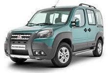 Дефлектор капота (мухобойка, отбойник капота) Fiat Doblo 2001-2012