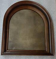 Киот для арочной иконы, с внутренней деревянной рамой., фото 2