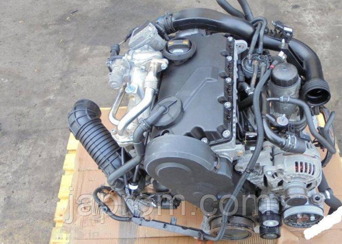 Мотор (Двигатель) Audi A4 B7 2.0 TDI BPW 140л.с 2007r