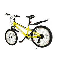 Велосипед RoyalBaby FREESTYLE 20 дюймов  6-ск цвет желтый