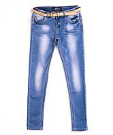Женские зауженные джинсы 0663 (28-33 полубатал, 6 ед.) Леди Эн