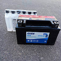 Аккумулятор    6Ah-12v Exide AGM (ETX7A-BS) (150х87х93) L, EN90 , фото 1