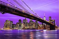 Фотообои город,мост