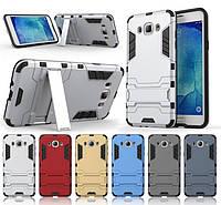 Противоударный чехол Samsung Galaxy J5 2016 (бампер трансформер) (Самсунг Джей Джи 5 16)