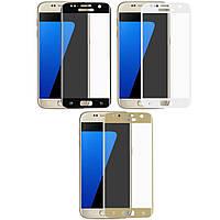 Защитное стекло на весь экран Samsung Galaxy S7 G930 (изогнутое) (Самсунг С7 930)