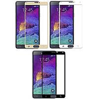 3D стекло Samsung Galaxy Note 4 N910 (Full Cover) (Самсунг Ноут Ноте 4 910)