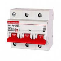 Трёхфазный автоматический выключатель 3р, 125А, K, 6кА new, e.mcb.pro.60.3.K 125 new автомат трехполюсный 125А