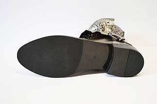 Ботинки демисезонные платина Guero, фото 2