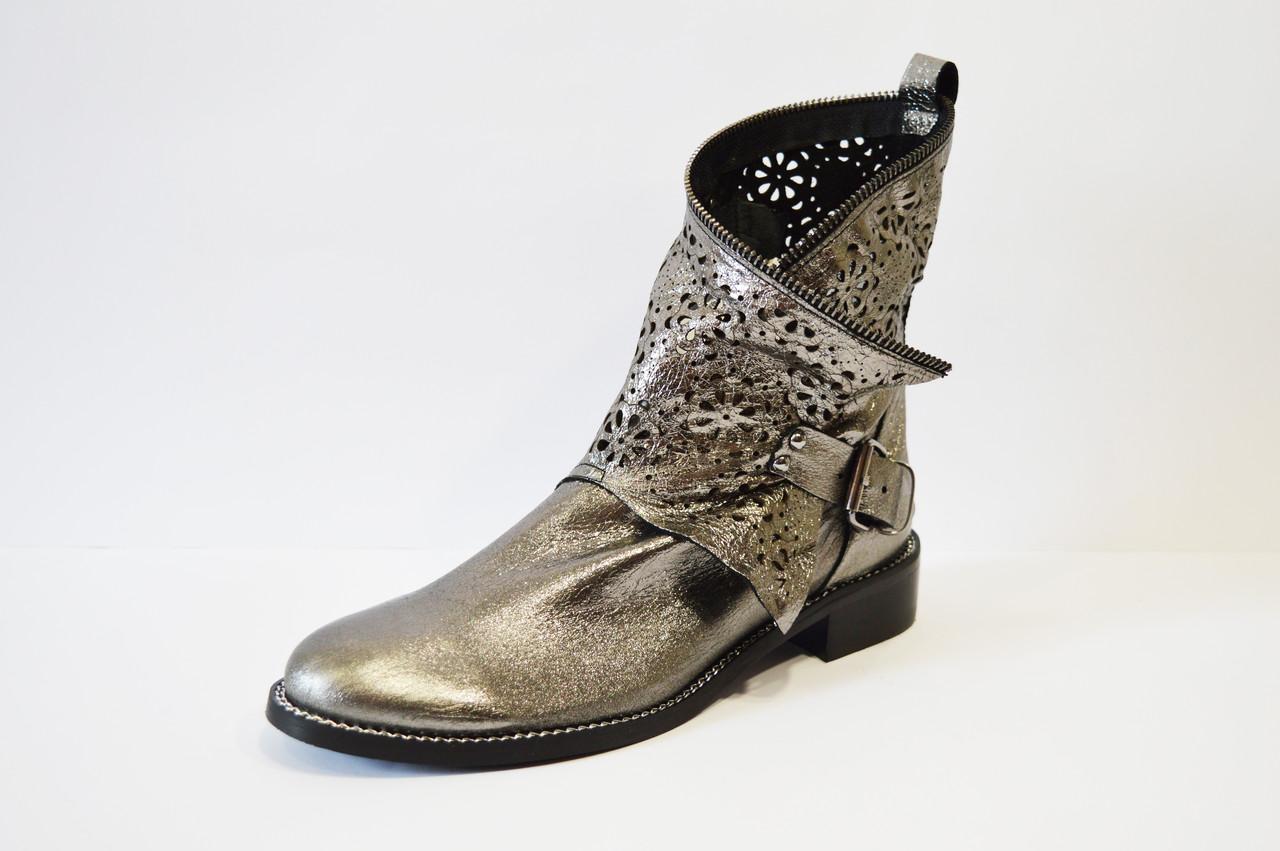 Ботинки демисезонные платина Guero