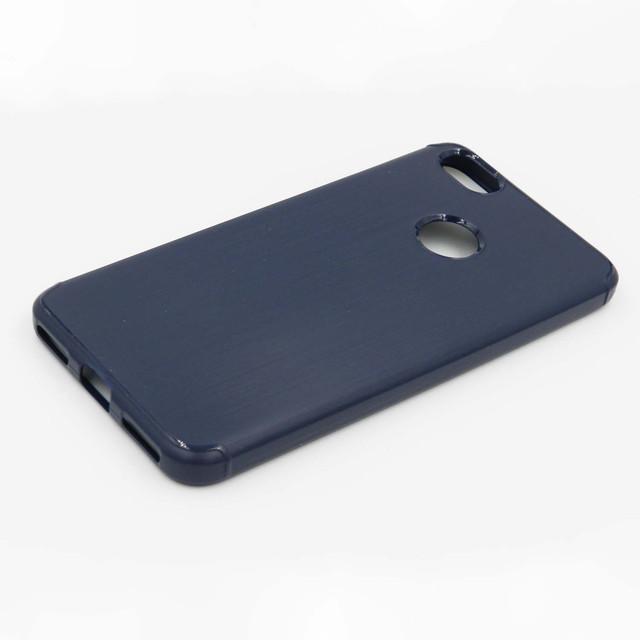 чохол Xiaomi Redmi Note 5A Prime накладка синій метал