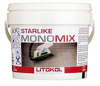 Однокомпонентная полиуретановая затирка для плитки Starlike MonoMix. Litokol