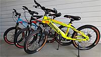 Спортивный велосипед topRider-510 20 дюймов  цвет черный