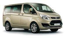 Дефлектор капота (мухобойка, отбойник капота) Ford Tourneo Custom 2013-2017