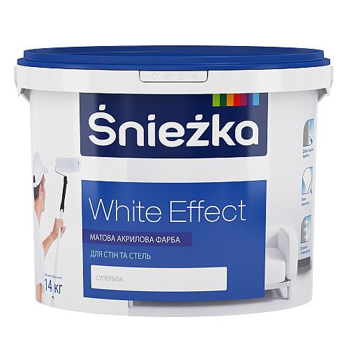Снєжка White Effect Матова акрилова для стін і стель  7кг