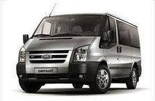 Дефлектор капота (мухобойка, отбойник капота) Ford Transit 2006-2014