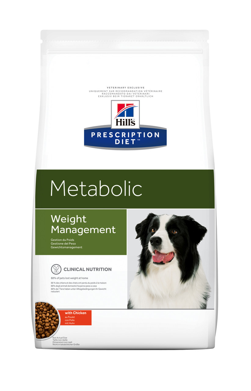 Hill's PD Canine Metabolic-12кг корм для собак при ожирении и избыточном весе