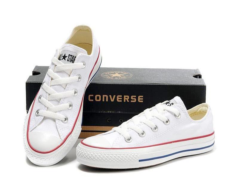 Женские кеды Converse All Star белые низкие (реплика) - Modashoping -  производитель женских пижам e2b119717be24