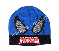 Вязанная шапка Человек-паук 42-46 см