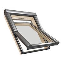 Мансардное окно Designo Standard WDF R45H дерево 5x7 Roto / Рото