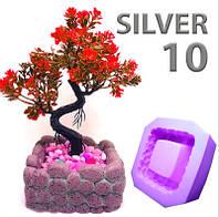 Силикон для форм супержидкий и мягкий Silver10 Силвер 10, высокоэластичный  (уп. 1кг), фото 1