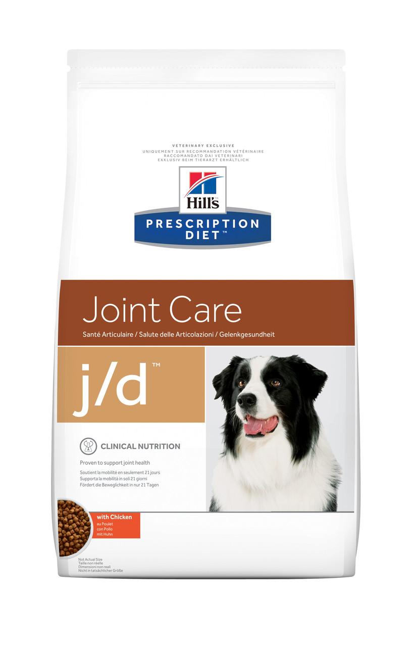 Hill's PD Canine J/D-2кг.диета для собак при заболеваниях опорно-двигательного аппарата.